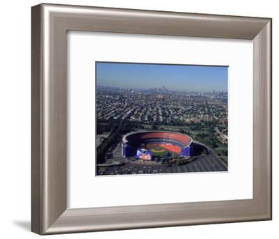 Shea Stadium, Aerial View, Ny Mets-Bruce Clarke-Framed Photographic Print
