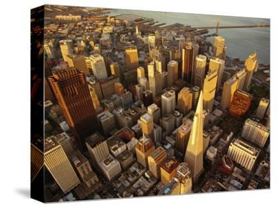 Downtown San Francisco, CA-Daniel McGarrah-Stretched Canvas Print