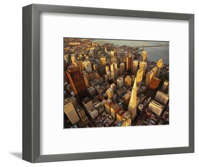 Downtown San Francisco, CA-Daniel McGarrah-Framed Photographic Print