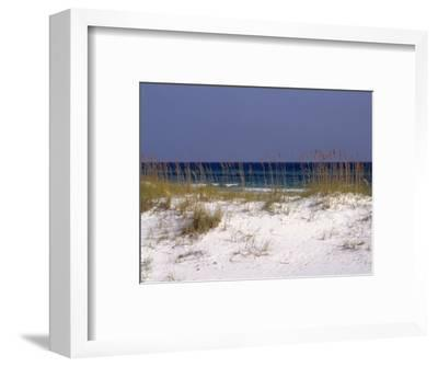 Beach on Gulf of Mexico, Al-Sherwood Hoffman-Framed Photographic Print