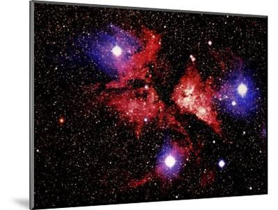 Nebula and Stars-Terry Why-Mounted Photographic Print