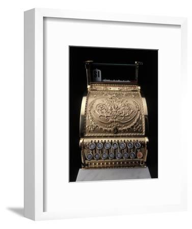 Antique Cash Register-Howard Sokol-Framed Photographic Print