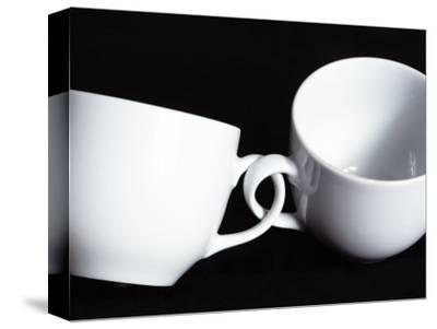 Two Cups with Intertwined Handles-Monzino-Stretched Canvas Print