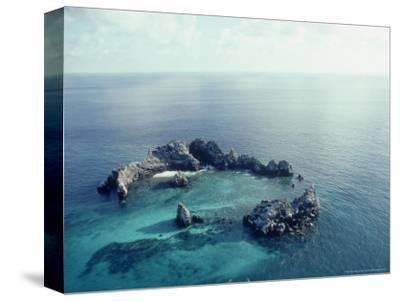 Devils Crown, Galapagos Islands-Mary Plage-Stretched Canvas Print