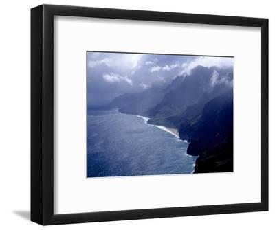 Na Pali Coast, Kauai, Hawaii-Michele Burgess-Framed Photographic Print