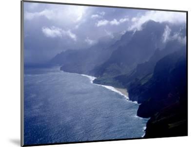 Na Pali Coast, Kauai, Hawaii-Michele Burgess-Mounted Photographic Print