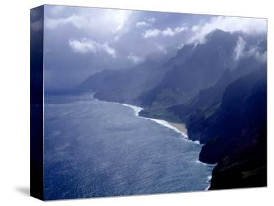 Na Pali Coast, Kauai, Hawaii-Michele Burgess-Stretched Canvas Print