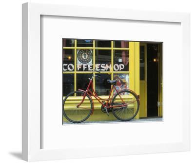 Coffee Shop, Amsterdam, Netherlands-Peter Adams-Framed Photographic Print