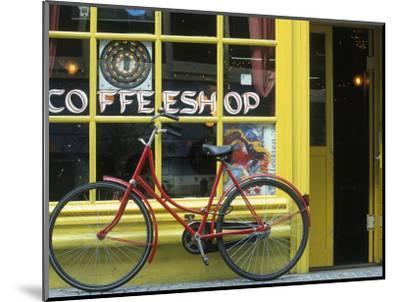 Coffee Shop, Amsterdam, Netherlands-Peter Adams-Mounted Photographic Print