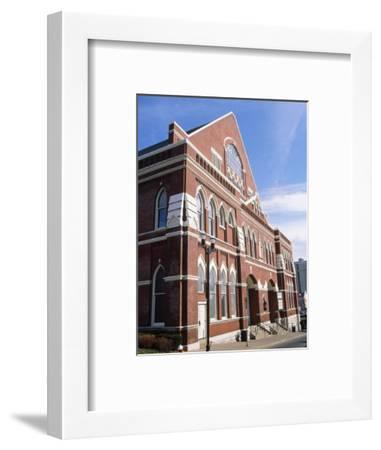 Grand Ole Opry at Ryman Auditorium-Barry Winiker-Framed Photographic Print