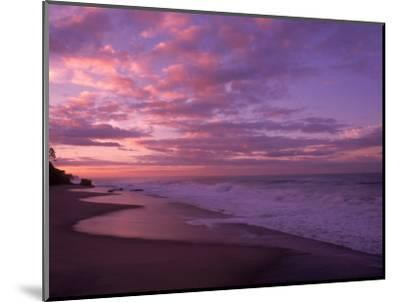 Sunset and the Ocean, CA-Mitch Diamond-Mounted Photographic Print