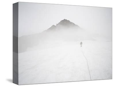 Sulphide Glacier, North Cascades National Park, Washington-Ethan Welty-Stretched Canvas Print