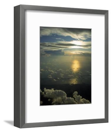 Florida Coastline, Aerial View-Bruce Clarke-Framed Photographic Print