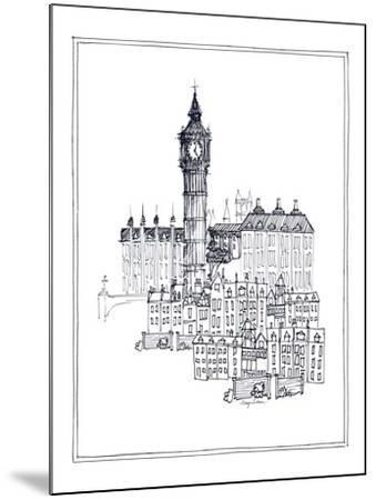 Big Ben-Avery Tillmon-Mounted Premium Giclee Print