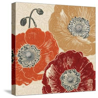 A Poppys Touch III-Daphne Brissonnet-Stretched Canvas Print