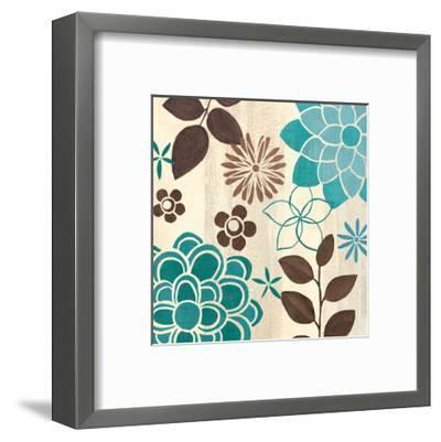 Abstract Garden II-Veronique Charron-Framed Art Print