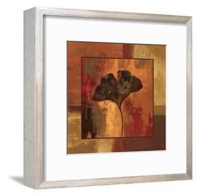 October Leaf II-Silvia Vassileva-Framed Art Print