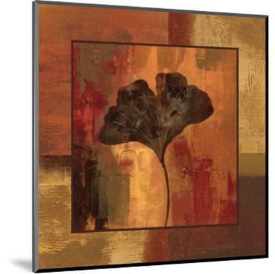 October Leaf II-Silvia Vassileva-Mounted Art Print