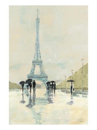 April in Paris-Avery Tillmon-Art Print