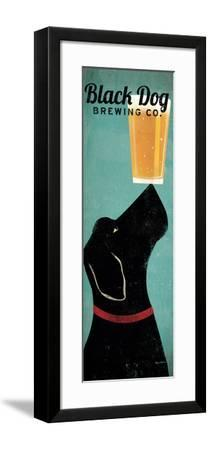 Black Dog Brewing Co.-Ryan Fowler-Framed Premium Giclee Print