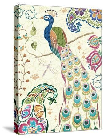 Peacock Fantasy III-Daphne Brissonnet-Stretched Canvas Print