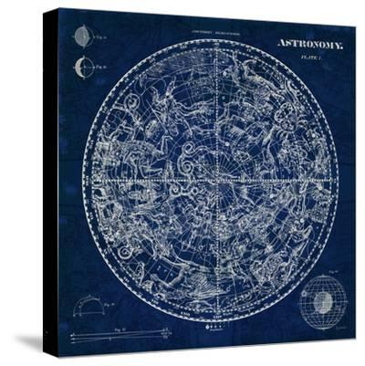 Celestial Blueprint-Sue Schlabach-Stretched Canvas Print