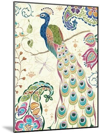 Peacock Fantasy III-Daphne Brissonnet-Mounted Art Print