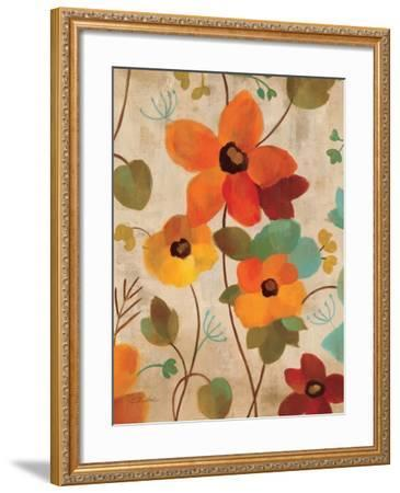 Vibrant Embroidery III--Framed Art Print