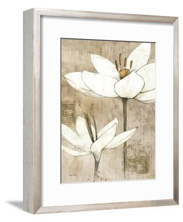 Pencil Floral I-Avery Tillmon-Framed Art Print