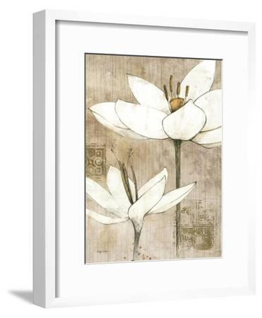 Pencil Floral I-Avery Tillmon-Framed Art Print