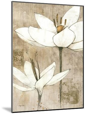 Pencil Floral I-Avery Tillmon-Mounted Art Print