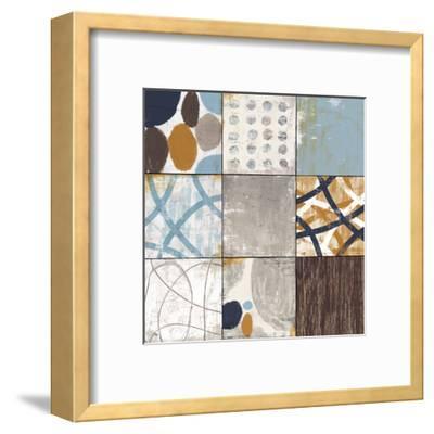 Raw Sienna II-Mo Mullan-Framed Art Print