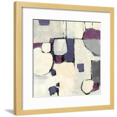 White Out II-Mike Schick-Framed Art Print