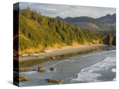 Sunset on the Beach-Sergio Ballivian-Stretched Canvas Print