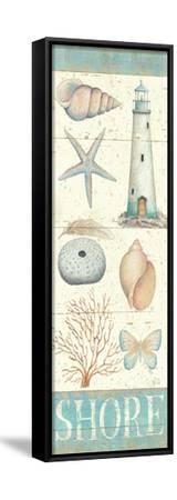 Pastel Coast Panel II-Daphne Brissonnet-Framed Stretched Canvas Print