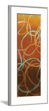 Square Dancing Circles I-Sarah Adams-Framed Premium Giclee Print