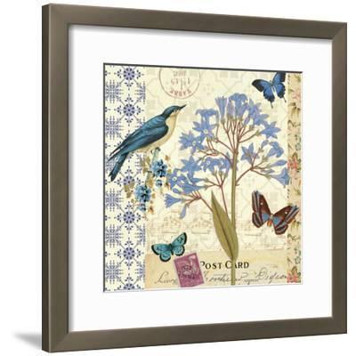 Blue Notes I-Pela Design-Framed Premium Giclee Print