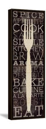 Kitchen Words I-Pela Design-Framed Stretched Canvas Print