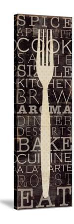 Kitchen Words I-Pela Design-Stretched Canvas Print