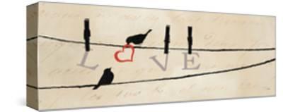Bird at Heart II-Pela Design-Stretched Canvas Print