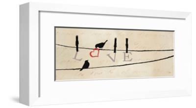 Bird at Heart II-Pela Design-Framed Premium Giclee Print