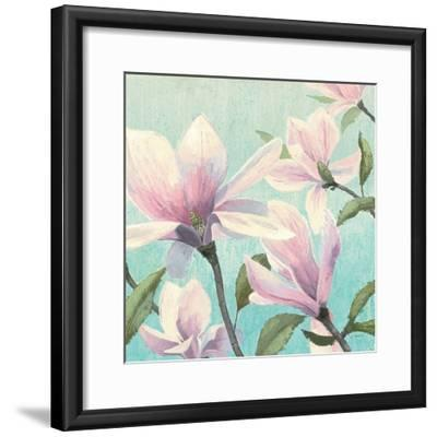 Southern Blossoms I Square-James Wiens-Framed Premium Giclee Print