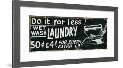 Vintage Sign I-Pela Design-Framed Premium Giclee Print