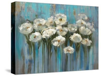 Anemones by the Lake-Silvia Vassileva-Stretched Canvas Print