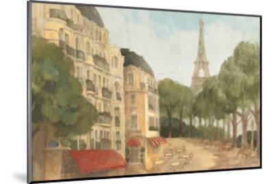 From the Balcony-Albena Hristova-Mounted Premium Giclee Print