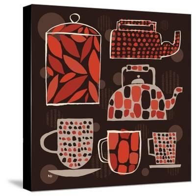 Spotted Kitchen II-Mo Mullan-Stretched Canvas Print