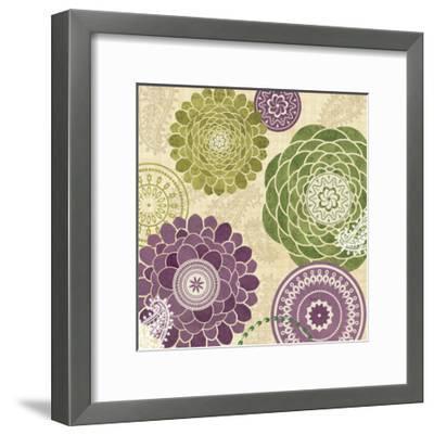 Garden Melody II--Framed Art Print