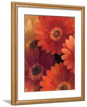 Garden of Gerberas II-Albena Hristova-Framed Art Print