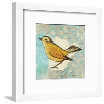 Wilsons Warbler II-Kathrine Lovell-Framed Art Print