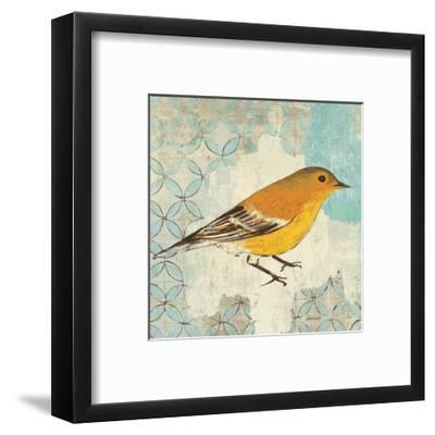 Pine Warbler-Kathrine Lovell-Framed Art Print